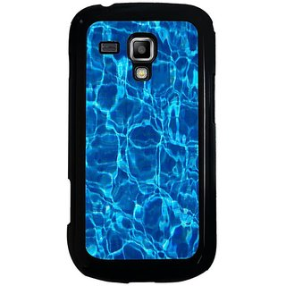 Fuson Designer Phone Back Case Cover Samsung Galaxy S Duos 2 ( Blue Water Pattern )