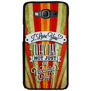 Fuson Designer Phone Back Case Cover Samsung Galaxy On5 Pro ( Greetings Of Love )
