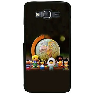 Fuson Designer Phone Back Case Cover Samsung Galaxy On7 ( Children And Fun )