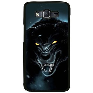 Fuson Designer Phone Back Case Cover Samsung Galaxy On7 Pro ( Dark And Scary Bear )
