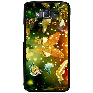 Fuson Designer Phone Back Case Cover Samsung Galaxy On7 Pro ( Many Butterflies Flying Together )