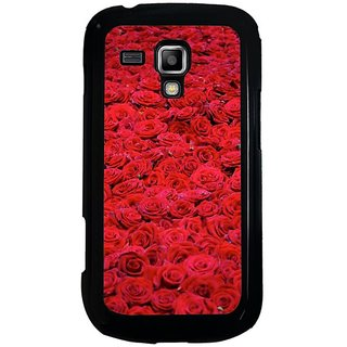 Fuson Designer Phone Back Case Cover Samsung Galaxy S Duos 2 ( Red Roses On Display )