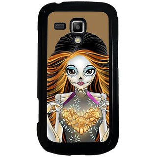 Fuson Designer Phone Back Case Cover Samsung Galaxy S Duos 2 ( The Heart Of Gold )