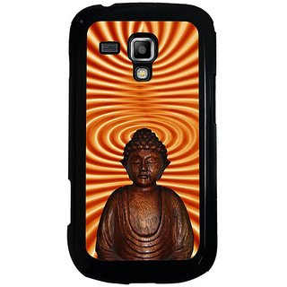 Fuson Designer Phone Back Case Cover Samsung Galaxy S Duos 2 ( Lord Budhha With Closed Eyes )