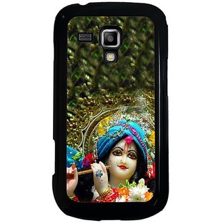 Fuson Designer Phone Back Case Cover Samsung Galaxy S Duos 2 ( Krishna And His Flute )