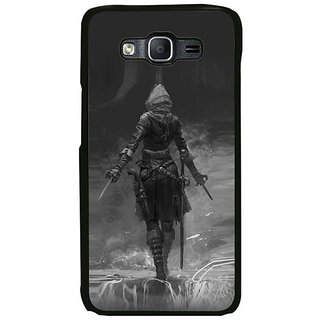 Fuson Designer Phone Back Case Cover Samsung Galaxy On7 ( The Warrior Ready To Attack )