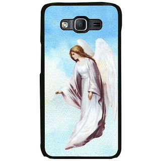 Fuson Designer Phone Back Case Cover Samsung Galaxy On7 ( An Angel Showering Blessings )