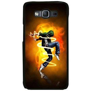Fuson Designer Phone Back Case Cover Samsung Galaxy On7 Pro ( Contemporary Dance By Boy )