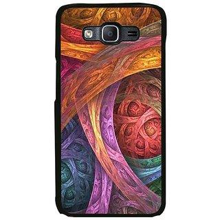 Fuson Designer Phone Back Case Cover Samsung Galaxy On7 Pro ( Random Bold Strokes Of Colour )