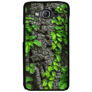 Fuson Designer Phone Back Case Cover Samsung Galaxy On7 ( Leaf Trail Climbing A Tree )