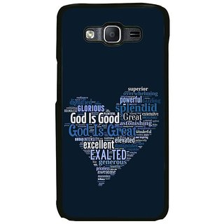 Fuson Designer Phone Back Case Cover Samsung Galaxy On7 Pro ( God Is Great And Good )