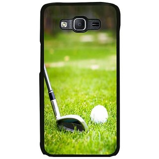 Fuson Designer Phone Back Case Cover Samsung Galaxy On7 Pro ( A Golfer In Action )