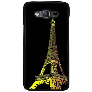 Fuson Designer Phone Back Case Cover Samsung Galaxy On7 ( Word Play In Paris )