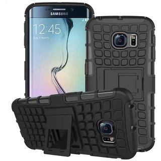 Mascot max Defender With Stand Back Cover Case for Samsung Galaxy J7 Prime DefJ7PrimeBlack