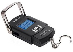 50kg 10g Digital Hanging Scale Portable Electronic Luggage Scale