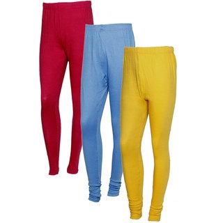 Indistar Women Warm Wollen Lycra Legging (Pack of 3)