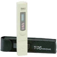 TDS Meter / TDS Tester For Testing Water Purity with Leather Case and Temperature Display Digital Pocket Pen Type
