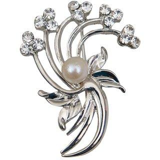 Taj Pearl Designer Freshwater Pearl Brooch