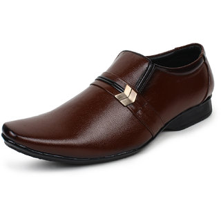 Shoe Zone Mens Brown Shoes
