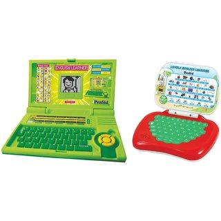 Buy Prasid Combo Of English Learner Kids Laptop (Green ...
