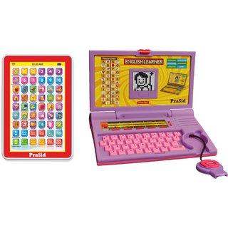 Buy Prasid Combo Of English Learner Kids Laptop (Purple ...
