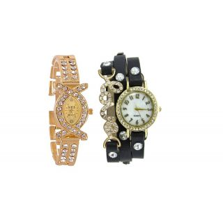 AKS + BLACK LOVE DORI SIGNATURE DESIGN COMBO WATCH