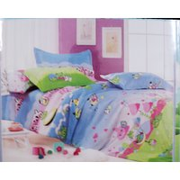 Large Size Beautiful Print Double Poly Cotton Bed Sheet With 2 Pillow Covers