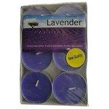 "Terro Art Lavender Flavaur New Tealights Candles Set Of 6Pcs Dia 2.25"" Td-1963"