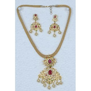 Vyshnavi wedding & party  wear Neckset