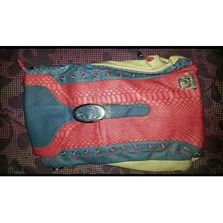 Ladies Brocade Bagpack Multicolor