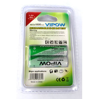 VIPOW RECHARGEABLE NI-MH BATTERY ACCU 1600 MAh