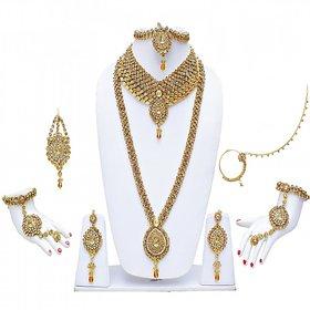 LCT kundan Bridal Necklace set