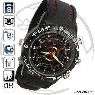 4GB Sportz Spy Camera Watch  Video Sound Recorder
