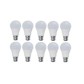 3 W LED Bulb (Pack Of 10), White