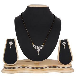 The Luxor Beautiful Designer Australian Diamond Mangalsutra