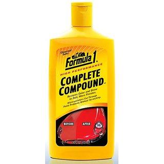 Formula 1 NEW Best coating, polish compound, scratch remover   super shine