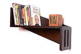 CURVE Wooden Wall Shelf