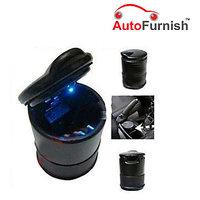 Autofurnish Car Blue LED Ash Tray Excellent Quality Mus