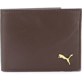 Puma Brown Mens Wallet Pumabrownbasic1