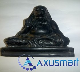 Kadapa stone Statue Ragavendra hight 6.8 inch lenth 5.5 inch 1.54  wight 1.5kg