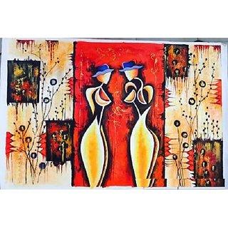 Modern Art Canvas Painting
