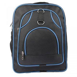 Starway School Bag Black  Blue