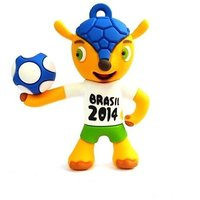 XElectron 4GB Brasil Football Fancy Designer USB Pen Drive