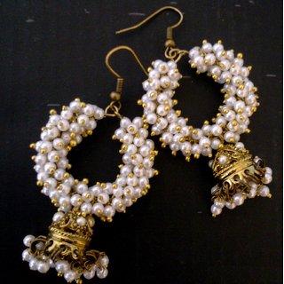Small Jhumka Earrings