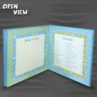 Baby Record Book (Blue)