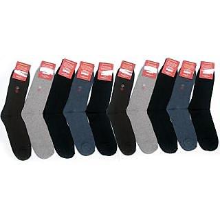 Pack Of 12 Premium Cotton Socks Designer & Comfort