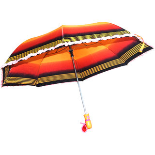 Caris Fancy 2 Fold Umbrella For Womens