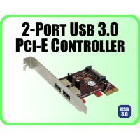 2-Port USB 3.0 PCI-Express 1X Controller