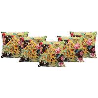 Multicolor Multi-patch 100% Cotton Cushion Cover