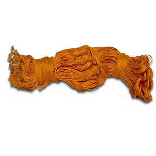 Kesariya Reshmi Janeu/Orange Janeu - 5 Pcs